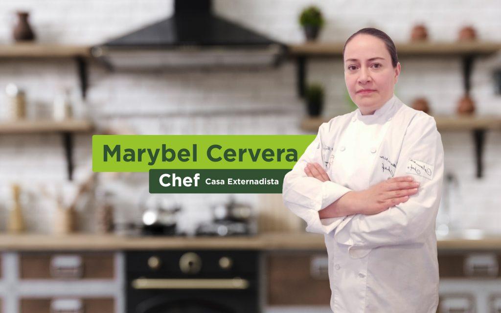 Chef Marybel Cervera, clases de cocina en familia.
