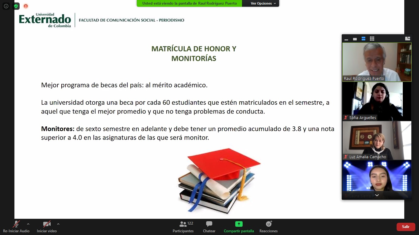 Bienvenida nuevos estudiantes 2021-1